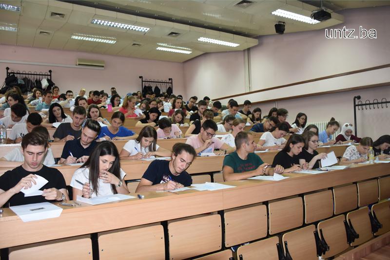 Univerzitet u Tuzli - prijemni ispit