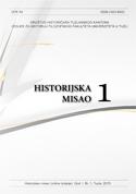 """Časopis """"Historijska misao"""" br. 1"""