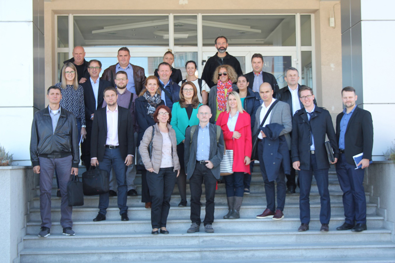 University of Tuzla - ELEMEND - Sarajevo coordination meeting