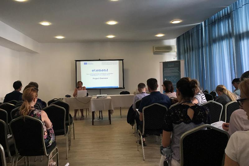 University of Tuzla - ELEMEND - International dissemination workshop in Budva