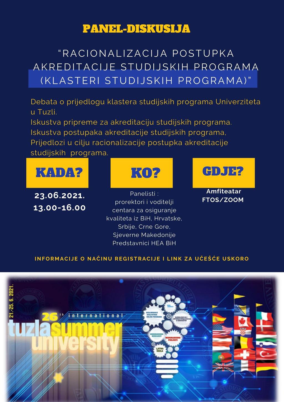 Univerzitet u Tuzli - LJUT 2021 - Panel diskusija