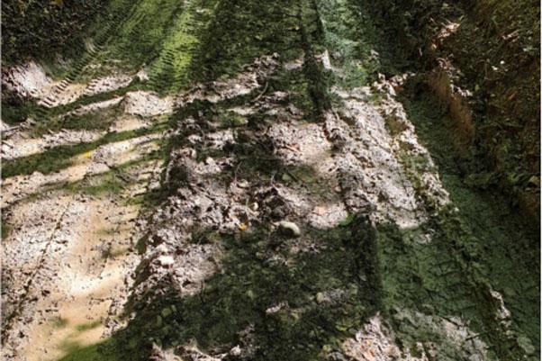 Sl. 13. Konjuh: U potrazi za rimskom cestom (foto. M. Imamović)